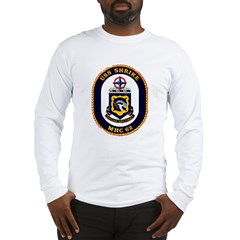 USS Shrike MHC-62 Navy Ship Long Sleeve T-Shirt