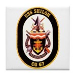 USS Shiloh CG-67 Navy Ship Tile Coaster