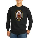 USS Shiloh CG-67 Navy Ship Long Sleeve Dark T-Shir