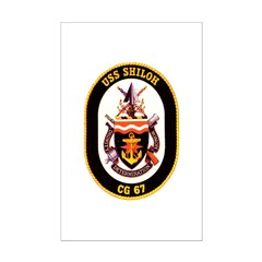 USS Shiloh CG-67 Navy Ship Posters