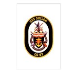 USS Shiloh CG-67 Navy Ship Postcards (Package of 8