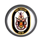 USS Shiloh CG-67 Navy Ship Wall Clock