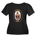 USS Shiloh CG-67 Navy Ship Women's Plus Size Scoop