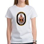 USS Shiloh CG-67 Navy Ship Women's T-Shirt