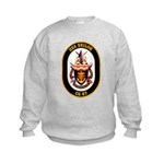 USS Shiloh CG-67 Navy Ship Kids Sweatshirt