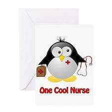 One Cool Nurse Greeting Card