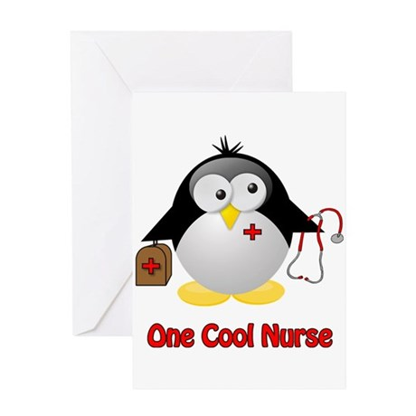 One Cool Nurse Greeting Card