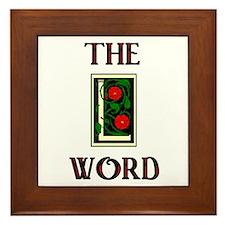 Cute L word showtime Framed Tile