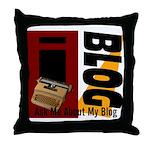 iblog Throw Pillow
