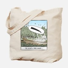 The Sound a Tree Makes Tote Bag