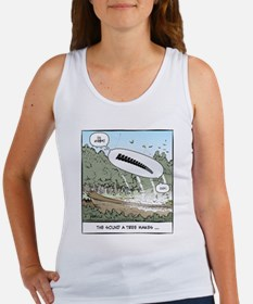 The Sound a Tree Makes Women's Tank Top