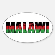 Malawi Oval Decal