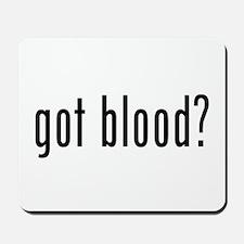 """""""Got Blood?"""" Mousepad"""