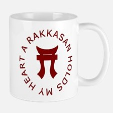 A RAKKASAN Holds My Heart Mug
