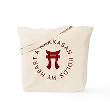 A RAKKASAN Holds My Heart Tote Bag