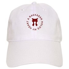 A RAKKASAN Holds My Heart Baseball Cap