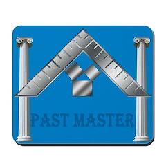 Masonic Past Master Euclid Mousepad