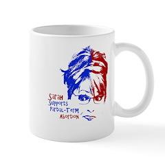 Sarah Supports Partial-Term A Mug