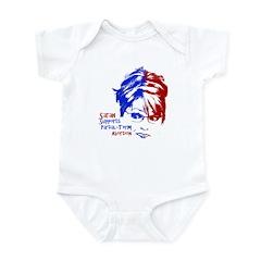 Sarah Supports Partial-Term A Infant Bodysuit
