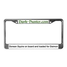 Cute Hunter License Plate Frame