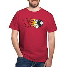 Flaming Eight Ball T-Shirt