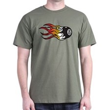 Flaming Eight Ball T-Shirt