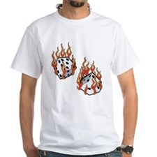Flaming Dice Shirt