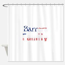 Barrera Family Shower Curtain