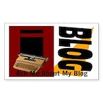iblog Rectangle Sticker