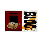 iblog Rectangle Magnet