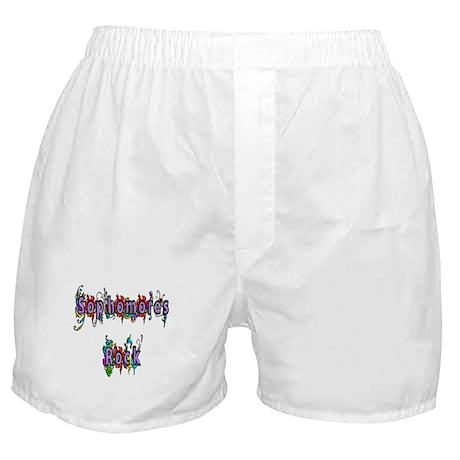 Sophomores Rock Boxer Shorts