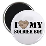 I Love My Soldier Boy Magnet