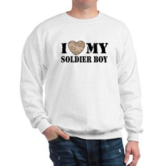 I Love My Soldier Boy Sweatshirt