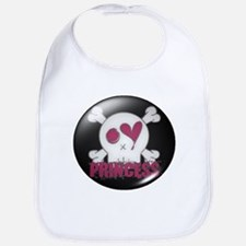 Princess (skull) Bib