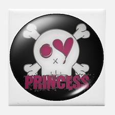 Princess (skull) Tile Coaster