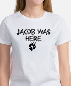Jacob was here Twilight Women's T-Shirt