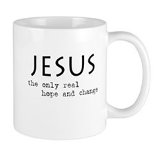 Jesus: the only real HOPE and Small Mug