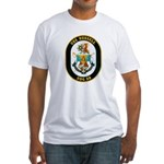 USS Russell DDG-59 Navy Ship Fitted T-Shirt