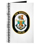 USS Russell DDG-59 Navy Ship Journal