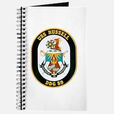USS Russell DDG-59 Navy Ship Journal