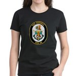 USS Russell DDG-59 Navy Ship Women's Dark T-Shirt