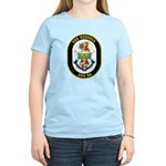 USS Russell DDG-59 Navy Ship Women's Light T-Shirt