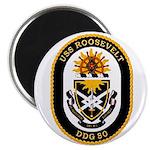 USS Roosevelt DDG-80 Navy Ship Magnet