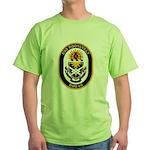 USS Roosevelt DDG-80 Navy Ship Green T-Shirt