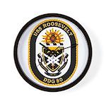USS Roosevelt DDG-80 Navy Ship Wall Clock