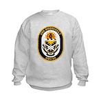USS Roosevelt DDG-80 Navy Ship Kids Sweatshirt