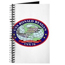 USS Ronald Regan CVN-76 Navy Ship Journal