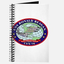 USS Ronald Regan CVN-76 Navy Ship Journal