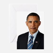 Cute Barack obama Greeting Card