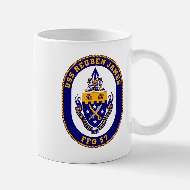 USS Reuben James FFG-57 Navy Ship Mug